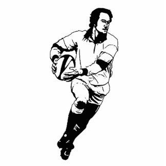 Rugby Pass Ball Photo Sculpture 3