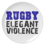 Rugby Plate