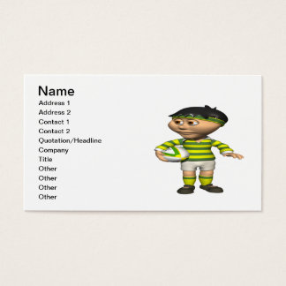 Rugby Player 2 Business Card