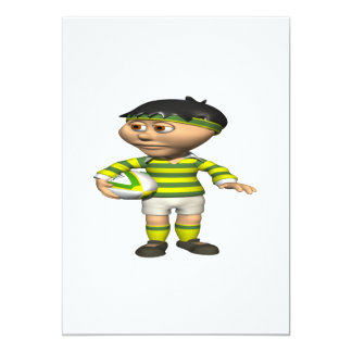 Rugby Player 2 Card