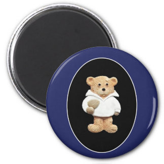 Rugby Player 2 Inch Round Magnet