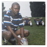 Rugby player 2 tile