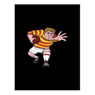 Rugby Player 4 Postcard
