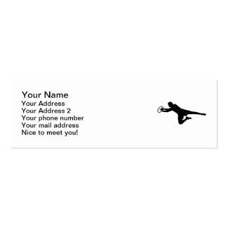 Rugby player Double-Sided mini business cards (Pack of 20)