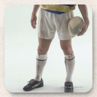 Rugby player coaster