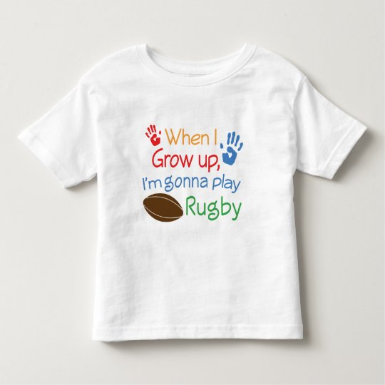 Rugby Player (Future) Toddler T-shirt