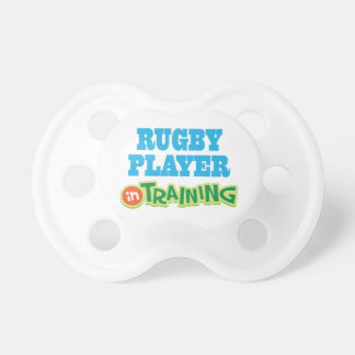 Rugby Player In Training (Future) Pacifier