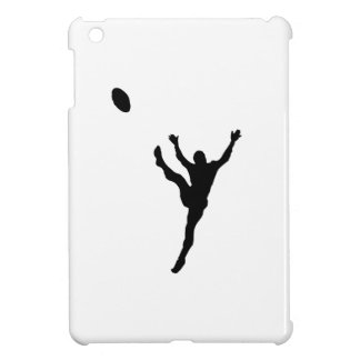 Rugby Player Kicking Silhouette Case For The iPad Mini