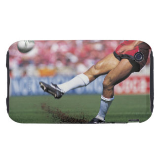 Rugby Player Kicking the Ball Tough iPhone 3 Case