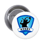 rugby player lineout line-out catch silhouette pins