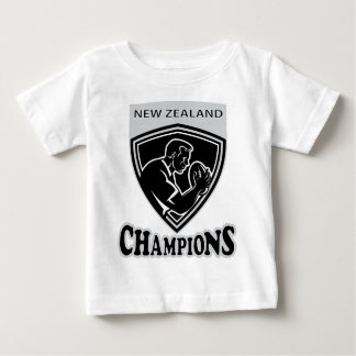 Rugby player New Zealand Champions shield T Shirts