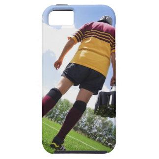 Rugby player on the sideline with refreshments iPhone 5 cases