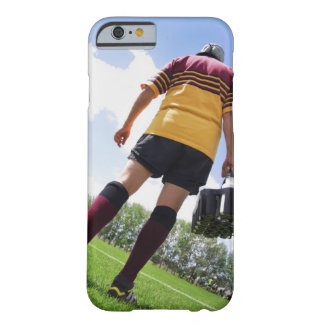 Rugby player on the sideline with refreshments barely there iPhone 6 case