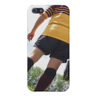 Rugby player on the sideline with refreshments iPhone 5/5S covers