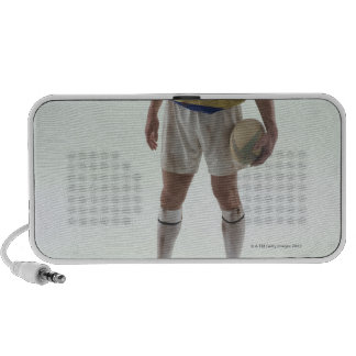 Rugby player laptop speakers