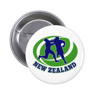 Rugby player tackle fending new zealand button
