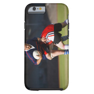 Rugby player tackling another tough iPhone 6 case