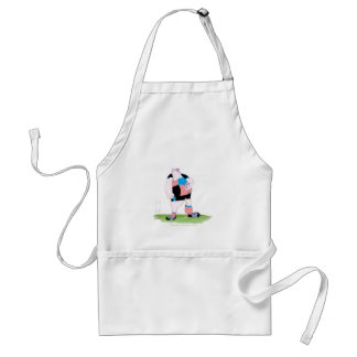 rugby player, tony fernandes adult apron
