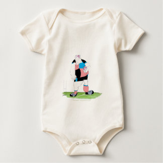 rugby player, tony fernandes baby bodysuit