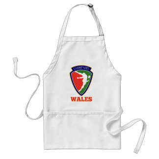 Rugby Player  Wales Champions Apron