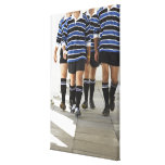 Rugby Players Canvas Print