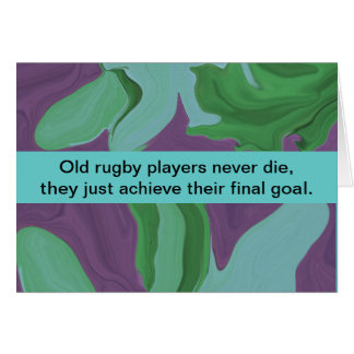 rugby players humor card
