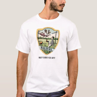 Rugby Players Kick Butt! - Vintage T-Shirt