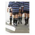 Rugby Players Postcard