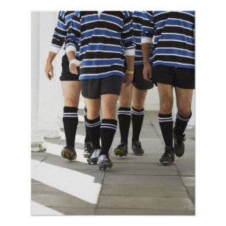 Rugby Players Poster
