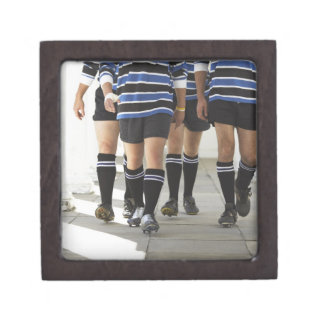 Rugby Players Premium Trinket Box