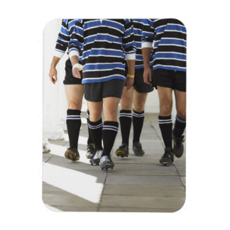 Rugby Players Rectangular Photo Magnet