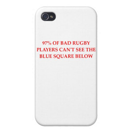 RUGBY.png iPhone 4 Protectores