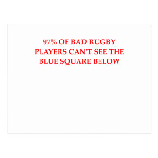 RUGBY.png Postcard