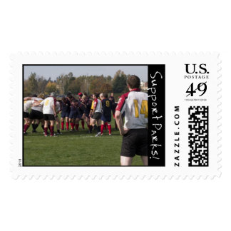Rugby Postage Stamp