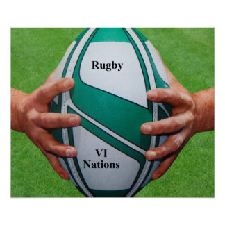 Rugby poster