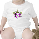 Rugby Princess Baby Bodysuit