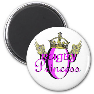 rugby princess magnet