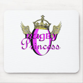 Rugby Princess Mouse Pad
