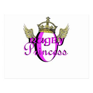 Rugby Princess Postcards