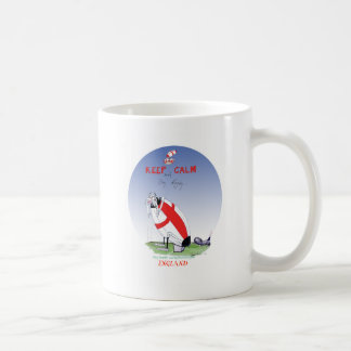 rugby - putting the boot in, tony fernandes coffee mug