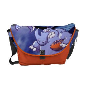 Rugby Rhinoceros Messenger Bag