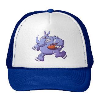 Rugby Rhinoceros Trucker Hat