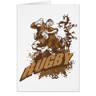 Rugby Rocks! Card