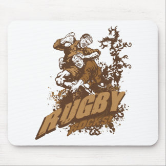 Rugby Rocks! Mouse Pad