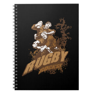 Rugby Rocks! Notebook