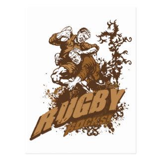 Rugby Rocks! Postcard
