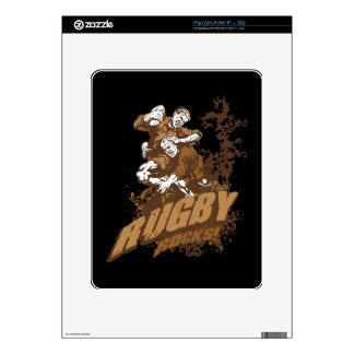 Rugby Rocks! iPad Skin