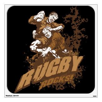 Rugby Rocks! Wall Sticker