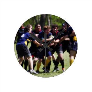 Rugby Round Clock