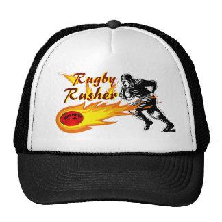Rugby Rusher Trucker Hat! Trucker Hat